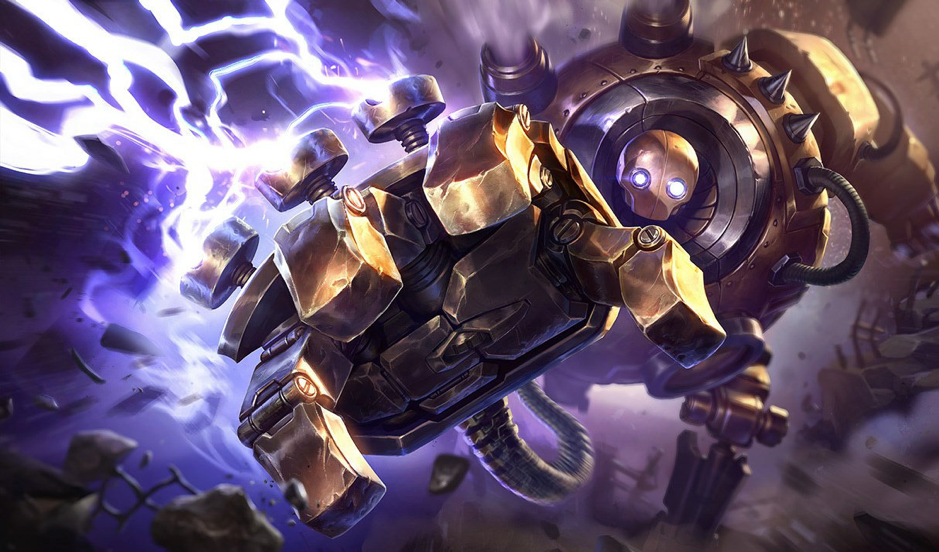 Blitzcrank, The Great Steam Golem